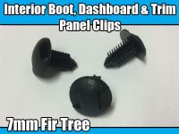 10x 7mm Fir Tree Clips For Toyota Fastening Interior Boot Dashboard & Trim Panel